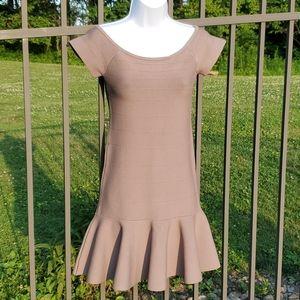 Guess Tan Mini Dress